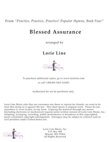 Blessed Assurance - EASY!