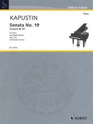 Sonata No. 19 op. 143