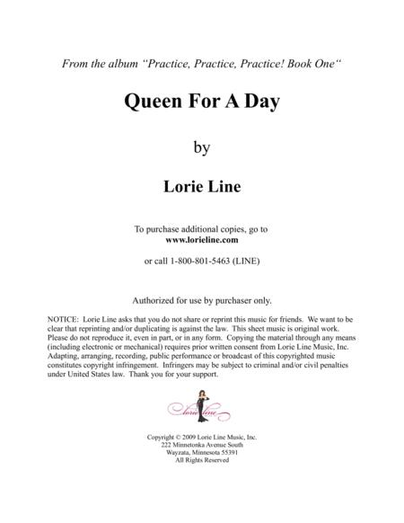 Queen For A Day - EASY!