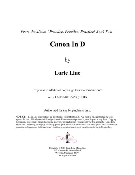 Canon In D - EASY!