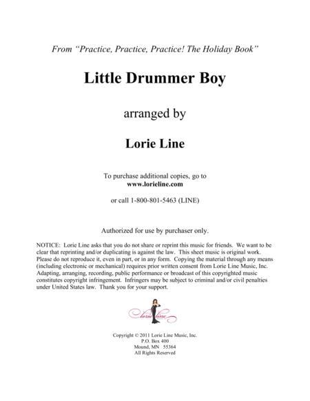 Little Drummer Boy - EASY!