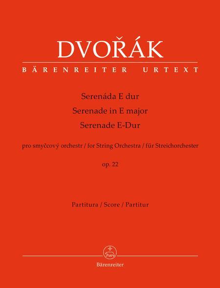 Serenade for String Orchestra E major op. 22