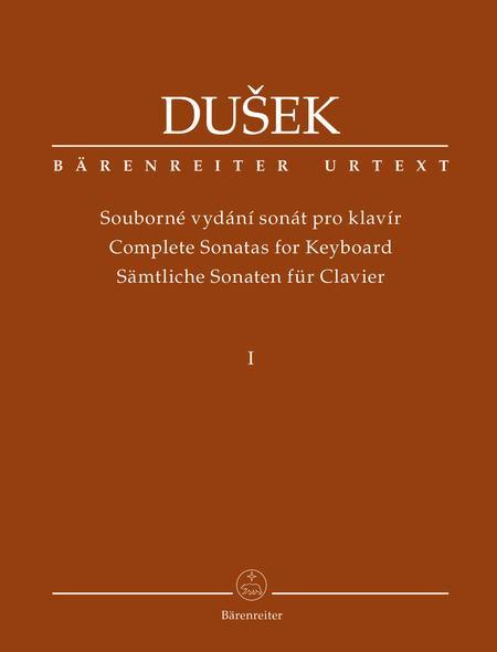 Complete Sonatas for Keyboard (Volume 1)