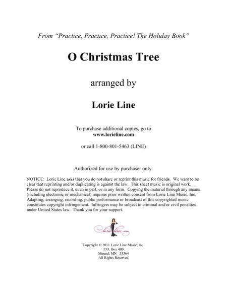 O Christmas Tree - EASY!