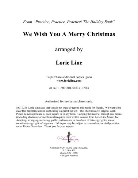 We Wish You A Merry Christmas - EASY!