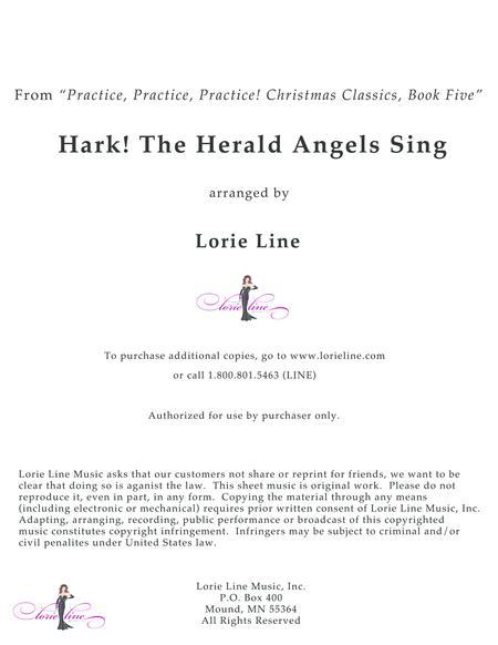 Hark! The Herald Angels Sing - EASY!
