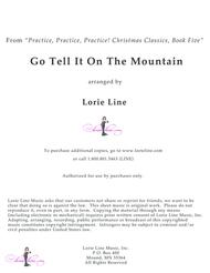 Go Tell It On The Mountain - EASY!