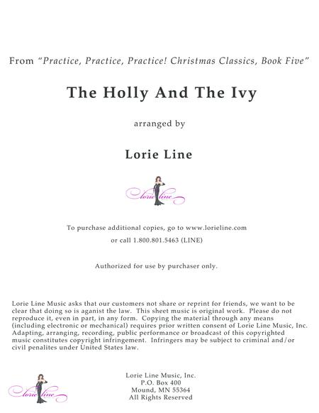 The Holly And The Ivy - EASY!
