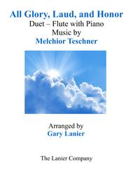 ALL GLORY, LAUD, AND HONOR (Duet – Flute & Piano with Parts)