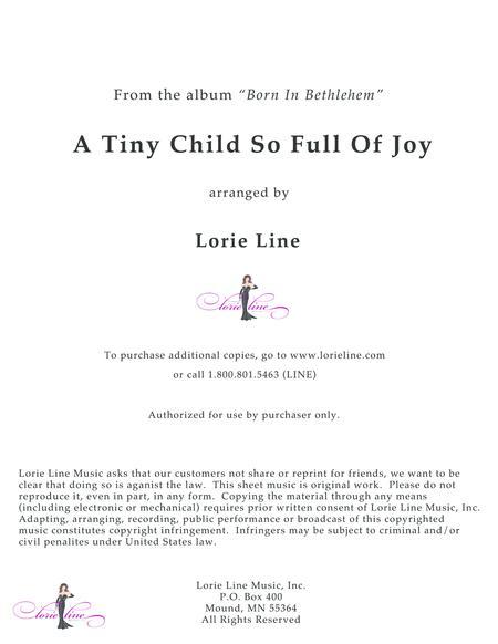 A Tiny Child So Full Of Joy