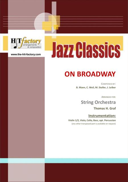 On Broadway - George Benson - funky - String Orchestra