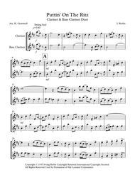 Puttin' On The Ritz: Clarinet & Bass Clarinet Duet