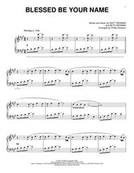 Blessed Be Your Name (arr. Phillip Keveren)