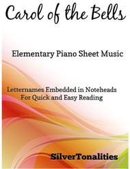 Carol of the Bells Elementary Piano Sheet Music