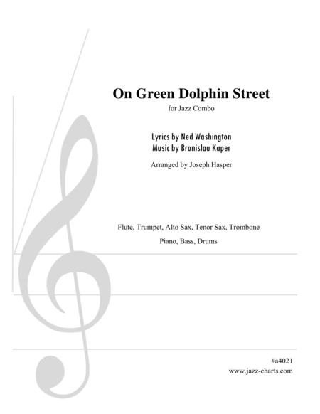 On Green Dolphin Street (Flute, Trumpet, Alto, Tenor, Trombone and Rhythm Section)