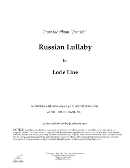 The Russian Lullaby