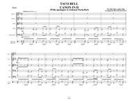 TACO BELL CANON IN D - String Orchestra - Bossa Nova