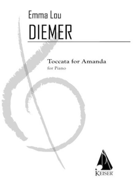 Toccata for Amanda: an Homage to the Minimalists and Antonio Vivaldi for Solo Piano