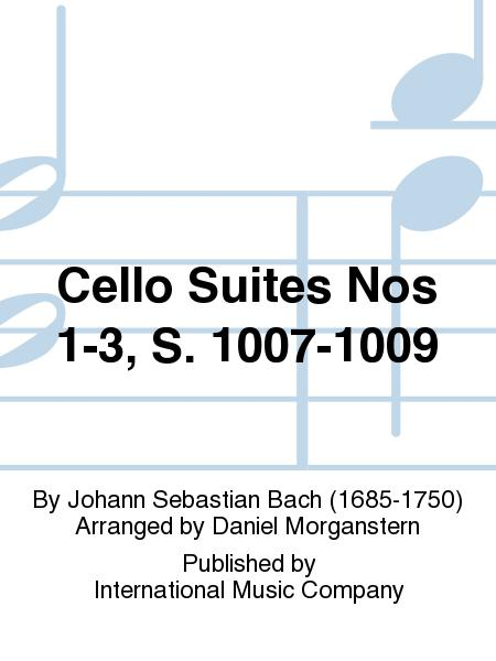 Cello Suites Nos 1-3, S. 1007-1009