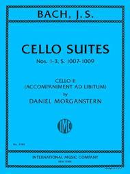Cello Suites Nos 1-3, S. 1007-1009