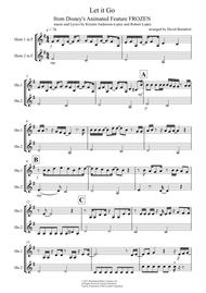 Let It Go (from Frozen) for French Horn Duet