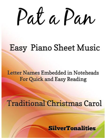 Pat a Pan In G Minor Easy Piano Sheet Music