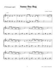 Sunny Day Rag, easy piano