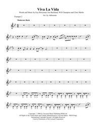 Viva La Vida -  Trumpet 2 part