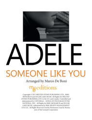 Adele - Someone Like You - Easy Flute Duet