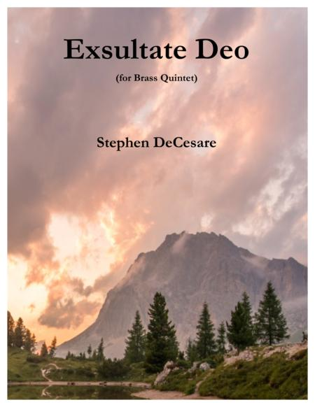Exsultate Deo (for Brass Quintet)