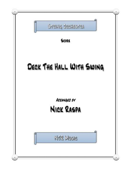 Deck The Hall With Swing - Score