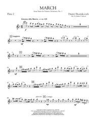 March from Suite for Variety Orchestra, No. 1 - Flute 2