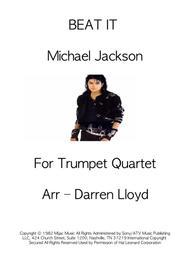 Beat it - Trumpet Quartet