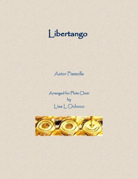 Libertango for Flute Choir