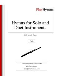 Hymns for Solo and Duet Instruments Flute