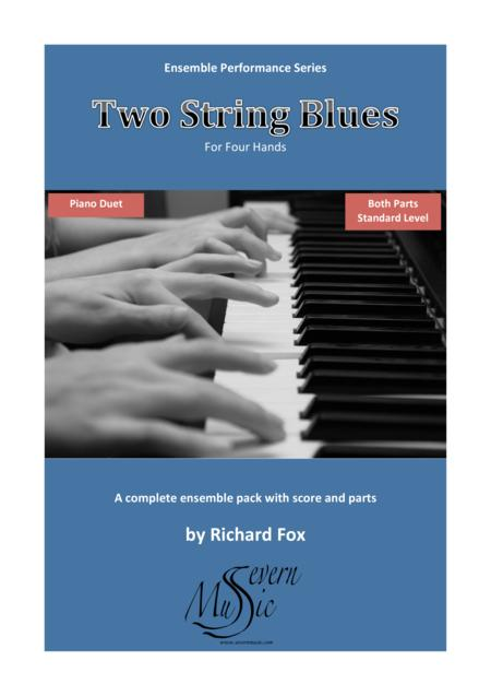 Two String Blues - Piano Duet (Ensemble Performance Series)
