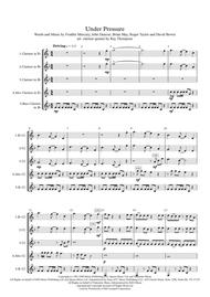 Queen & David Bowie: Under Pressure - clarinet quintet