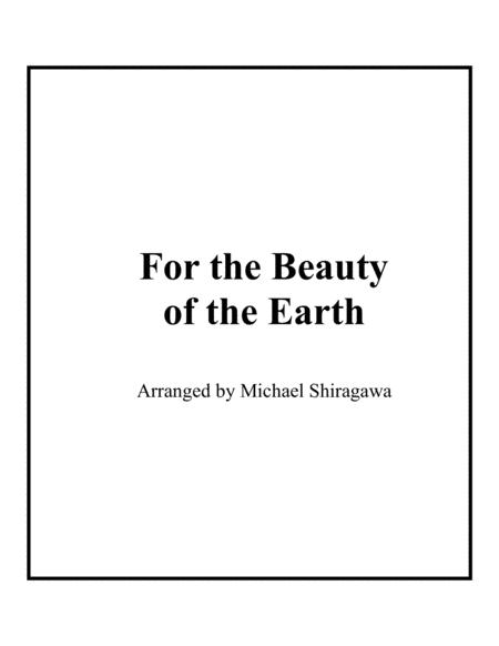 For the Beauty of the Earth - Violin
