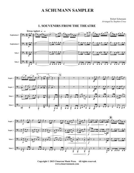 A Schumann Sampler