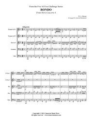Rondo from Horn Concerto No. 4