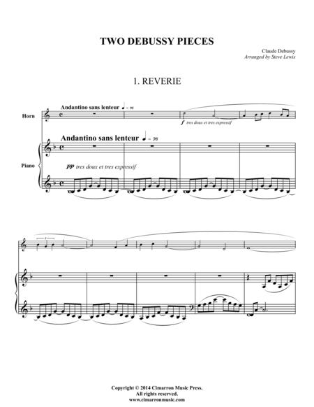 Two Debussy Pieces