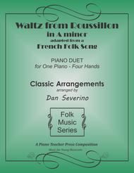 Waltz from Roussillon (piano duet)