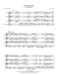 Jewish Medley: String Quartet