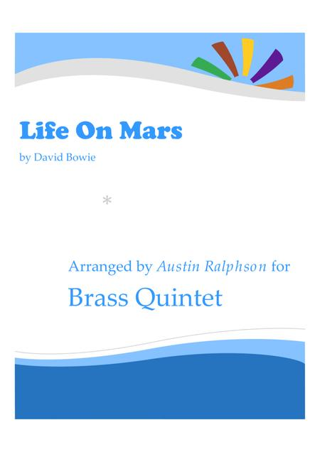 Life on Mars - brass quintet