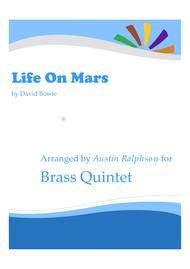Life on Mars - brass quintet