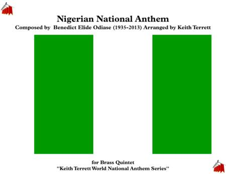 Nigerian National  Anthem for Brass Quintet