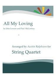 All My Loving - string quartet