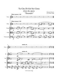 Tu Che Di Gel Sei Cinta from the opera Turandot