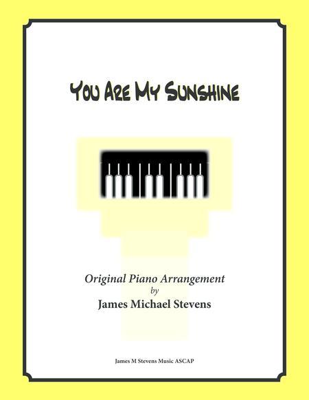 You Are My Sunshine (piano solo)