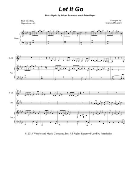 Let It Go (from Frozen) (for Woodwind Quintet)